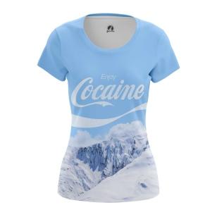 Женская Футболка Cocaine - купить в teestore