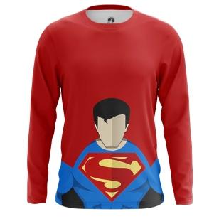 Мужской Лонгслив Супермен 2 - купить в teestore