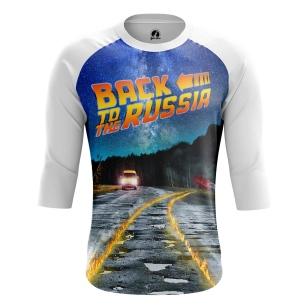 Мужской Реглан 3/4 Back to Russia - купить в teestore