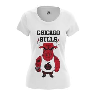 Женская Футболка Chicago Bulls - купить в teestore