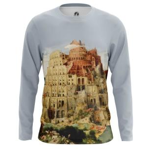 Мужской Лонгслив The Tower of Babel - купить в teestore