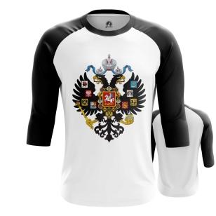 Мужской Реглан 3/4 Российская империя - купить в teestore