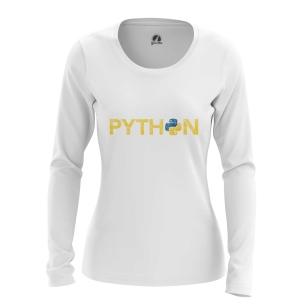 Женский Лонгслив Python - купить в teestore