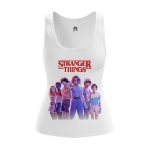 Женская Майка Stranger things 3 - купить в teestore