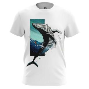 Футболка Синий кит - купить в teestore. Доставка по РФ