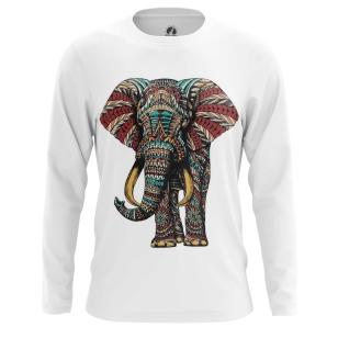 Мужской Лонгслив Индийский слон - купить в teestore