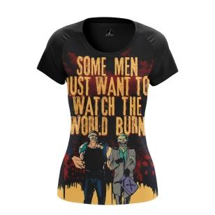 Женская Футболка World burn - купить в teestore