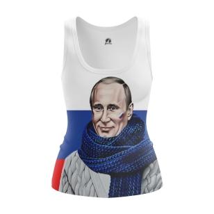 Женская Майка Владимир Путин - купить в teestore