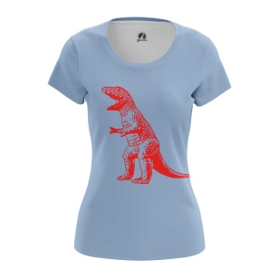 Женская Футболка Динозавр Шелдона - купить в teestore