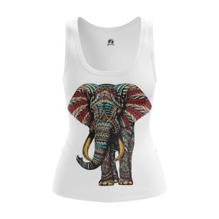 Женская Майка Слон - купить в teestore