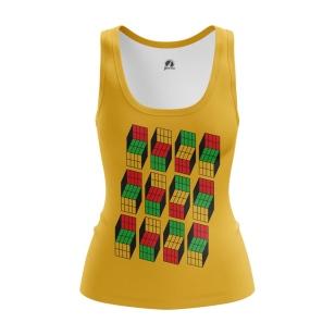 Женская Майка Кубик Рубика - купить в teestore