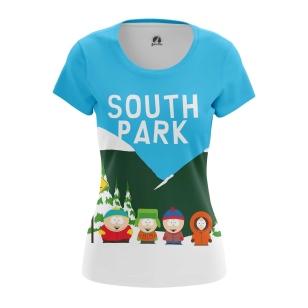 Женская Футболка Южный Парк  - купить в teestore