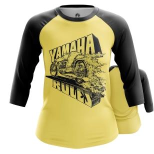 Женский Реглан 3/4 Yamaha - купить в teestore