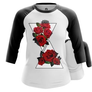 Женский Реглан 3/4 Rose - купить в teestore
