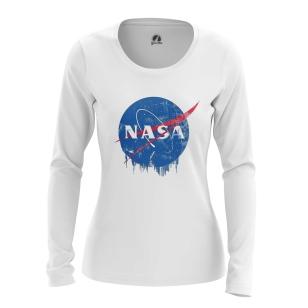 Женский Лонгслив NASA - купить в teestore