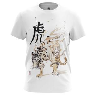 Футболка Белый тигр - купить в teestore. Доставка по РФ