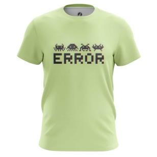 Футболка Error - купить в teestore. Доставка по РФ