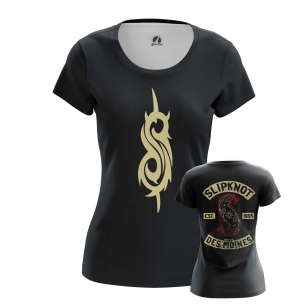 Женская Футболка Slipknot logo - купить в teestore
