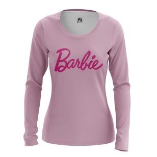 Женский Лонгслив Barbie - купить в teestore