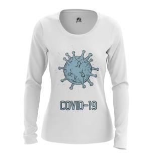 Женский Лонгслив Coronavirus - купить в teestore