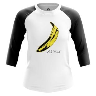 Женский Реглан 3/4 Warhol banana - купить в teestore
