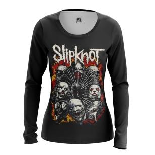 Женский Лонгслив Slipknot 2 - купить в teestore