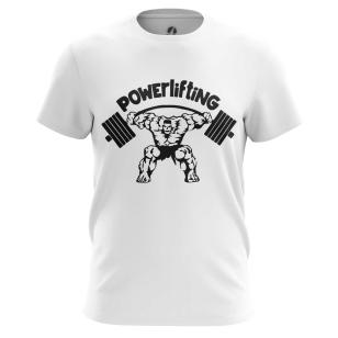 Футболка Powerlifting - купить в teestore. Доставка по РФ