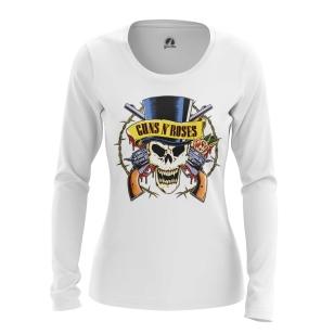 Женский Лонгслив Guns N' Roses Logo - купить в teestore