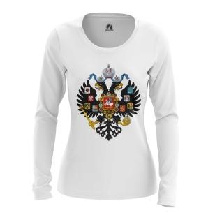 Женский Лонгслив Российская империя - купить в teestore