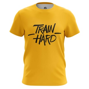 Футболка Train hard - купить в teestore. Доставка по РФ