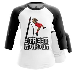Женский Реглан 3/4 Street Workout - купить в teestore