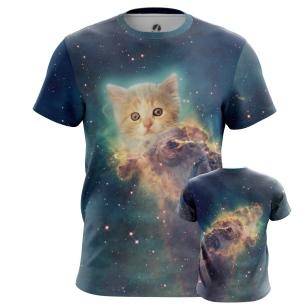 Футболка Космический котенок - купить в teestore. Доставка по РФ