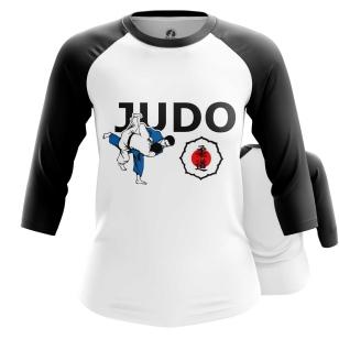 Женский Реглан 3/4 Judo federation - купить в teestore