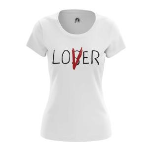 Женская Футболка Loser Lover  - купить в teestore