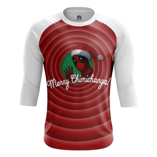 Мужской Реглан 3/4 Merry Chimichangas - купить в teestore