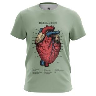 Футболка Человеческое сердце - купить в teestore. Доставка по РФ
