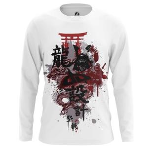 Мужской Лонгслив Японский стиль - купить в teestore