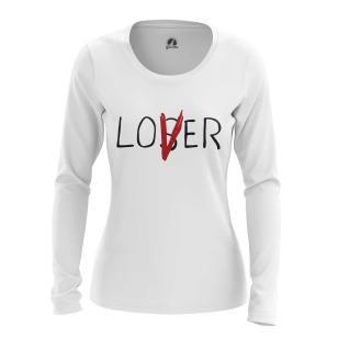 Женский Лонгслив Loser Lover  - купить в teestore