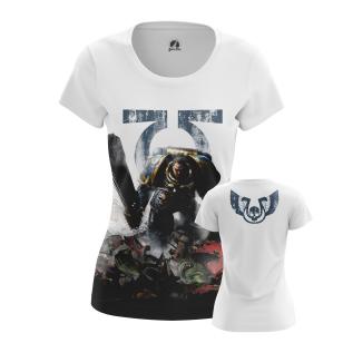 Женские Женские футболки Space Marine 2. Доставка по всей России