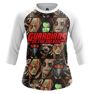 Женский Реглан 3/4 Guardians of the galaxy - купить в teestore