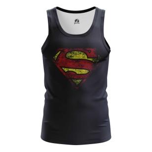 Мужская Майка Супермен логотип - купить в teestore