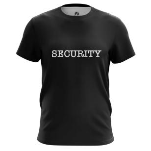 Футболка Security - купить в teestore. Доставка по РФ