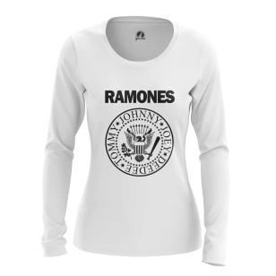 Женский Лонгслив Ramones logo - купить в teestore