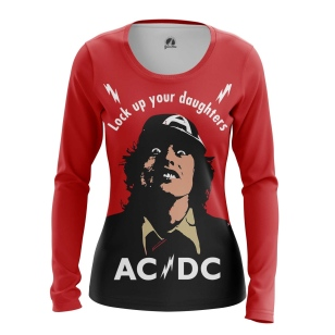 Женский Лонгслив AC/DC - купить в teestore