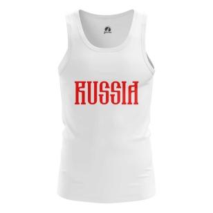 Мужская Майка Russia Red - купить в teestore