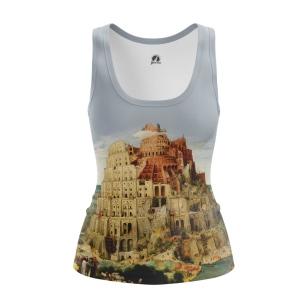 Женская Майка The Tower of Babel - купить в teestore