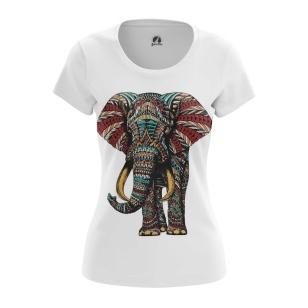 Женская Футболка Слон - купить в teestore