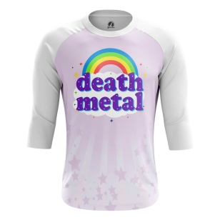 Мужской Реглан 3/4 Death metal - купить в teestore