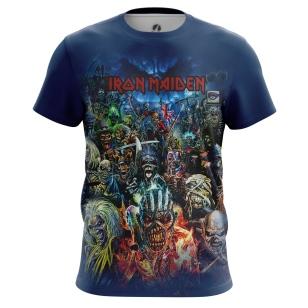 Мужские Футболки Iron Maiden. Доставка по всей России