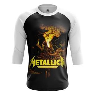 Мужской Реглан 3/4 Metallica - купить в teestore